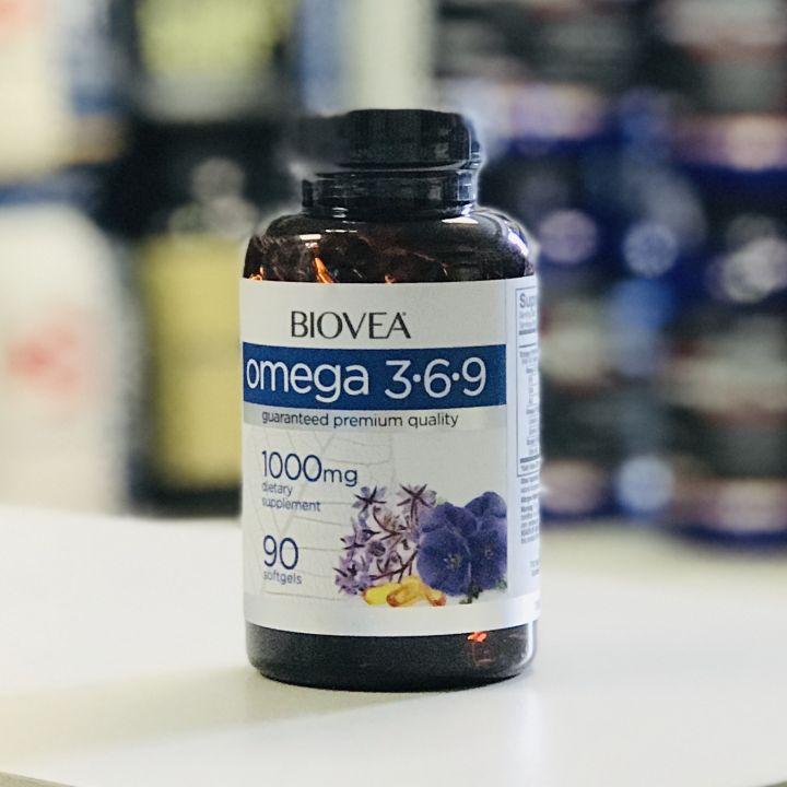 BIOVEA - Omega 3-6-9 1000 мг  (90 гел. капс)