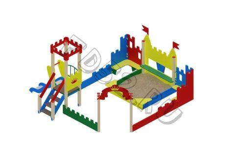 Песочный дворик королевство                                           5330х6035х3000