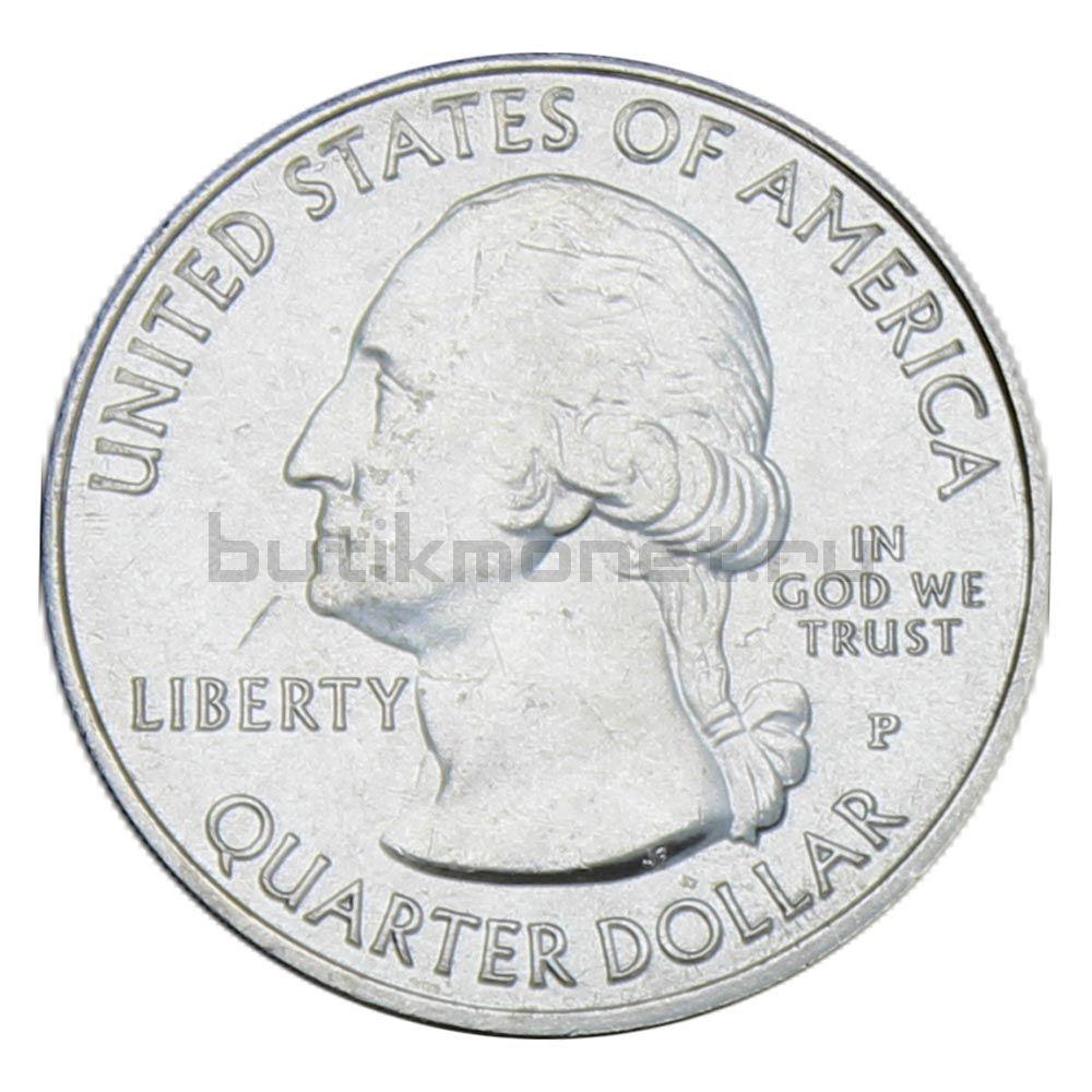 25 центов 2019 США Национальный исторический парк Лоуэлл P