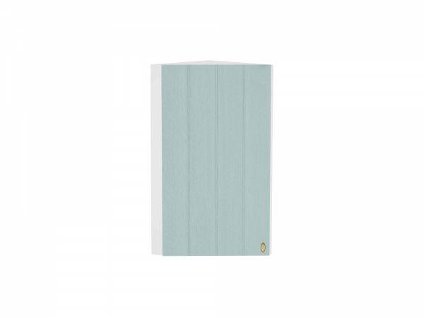 Шкаф верхний торцевой Прованс ВТ230Н (голубой)
