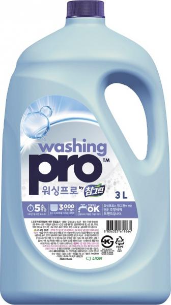 CJ Lion Средство для мытья посуды Washing Pro флакон 3 л