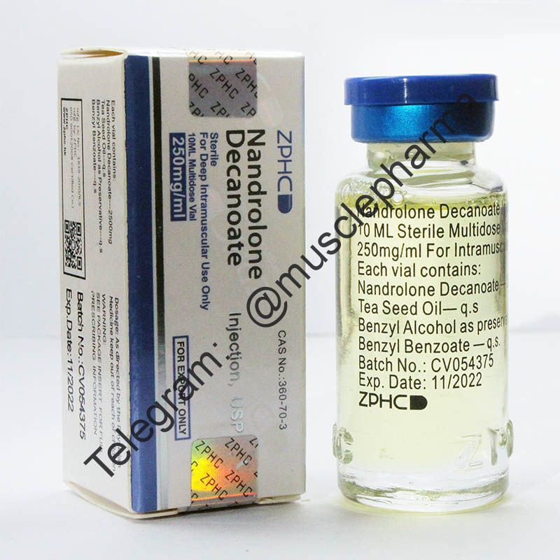 NANDROLONE DECANOATE (ДЕКАНОАТ). ZPHC. 1 флакон * 10 мл.