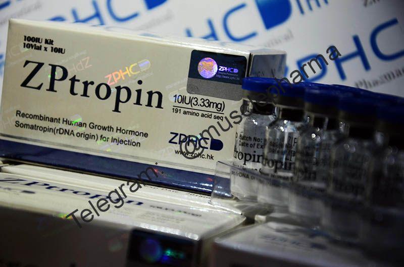 ZPtropin 10 Vial x 10 IU (3.33mg) 191 amino acid seq