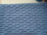 Голубой плед в коляску