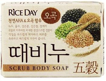 CJ Lion Mыло-скраб для тела Rice Day Пять злаков 100 г