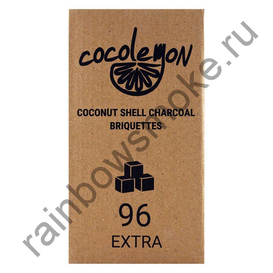 Уголь кокосовый  для кальяна Cocolemon Extra 22мм (96шт)
