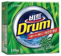 CJ Lion Стиральный порошок Beat Drum с пальмовым экстрактом автомат коробка 2,8 кг