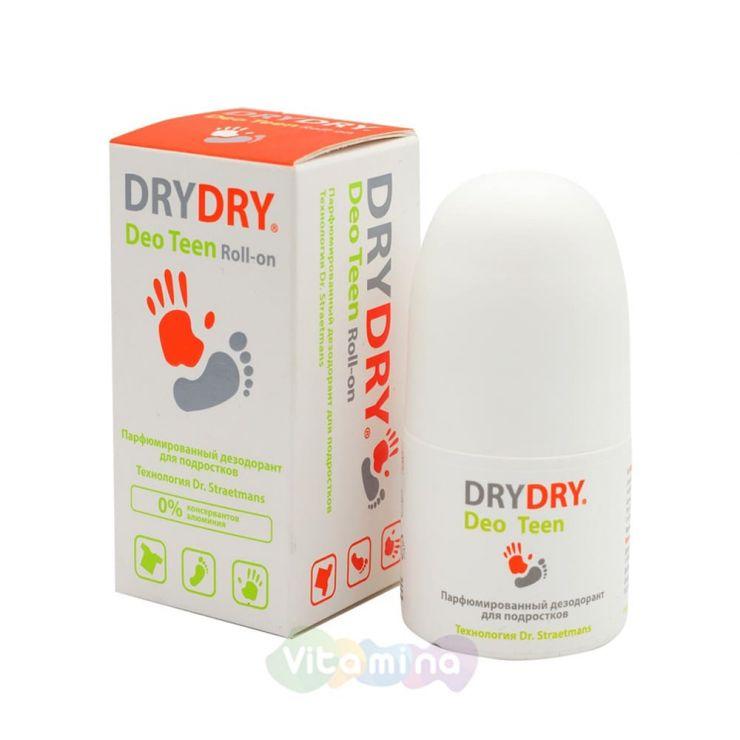 Dry Dry Deo Tееn Парфюмированный дезодорант для подростков, 50 мл