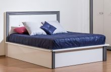 Кровать НАОМИ 180*200 с подъемным механизмом эмаль