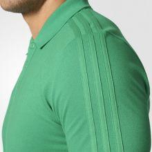 Футболка-поло adidas Tiro 17 Cotton Polo зелёная