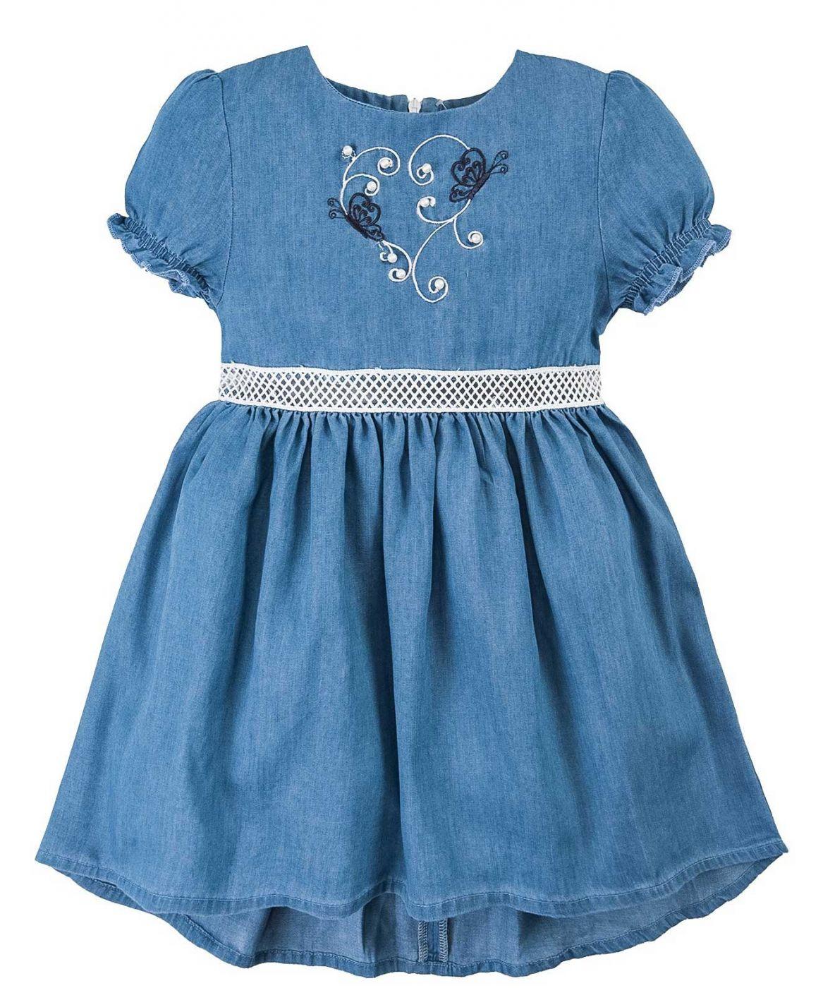 Джинсовое платье для девочки Bonito Jeans