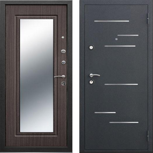 Входная дверь Версаль зеркало 9 см (венге)