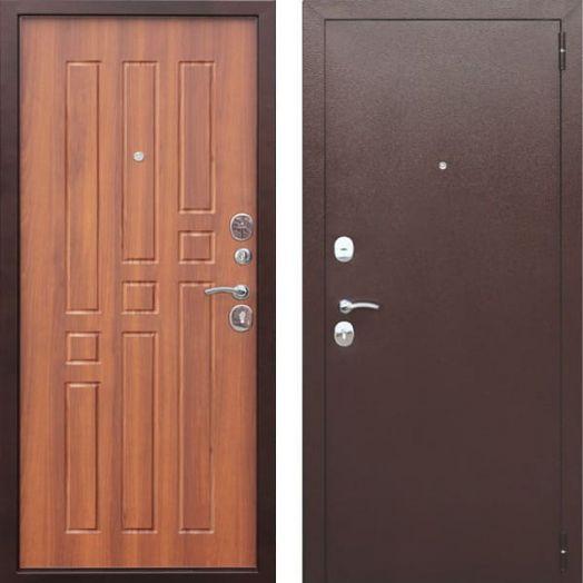 Входная дверь ГАРДА МУАР 8 мм (рустикальный дуб)