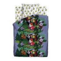 """Детское постельное белье """"Хижина Чудес"""", рис.16042-1-16043-1 (Гравити Фолз), 1.5сп."""