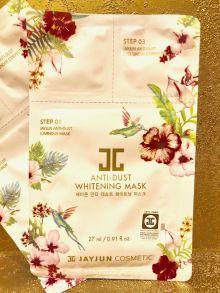 100 шт Трёхступенчатая осветляющая маска JayJun Anti-Dust Whitening Mask