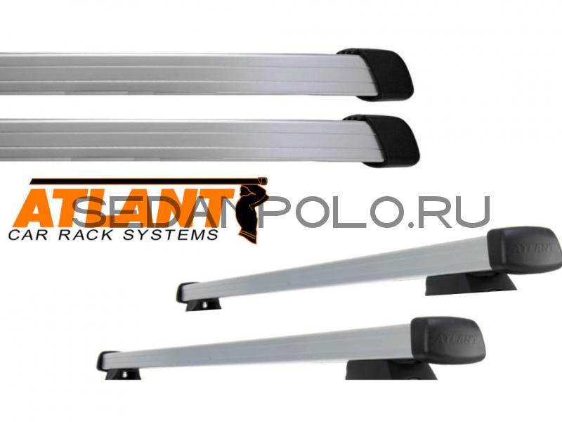 Алюминиевая дуга ATLANT прямоугольный профиль 20х30 L = 1260 комплект 2 шт. тип В