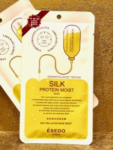 Маска для лица Esedo Korea Silk Protein Moist Mask, 30 мл