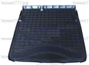 Коврик (поддон) в багажник, Unideс, полиуретан для 2WD