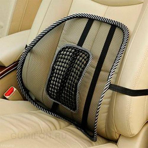 Ортопедическая массажная спинка в автомобиль, 38х35х15 см