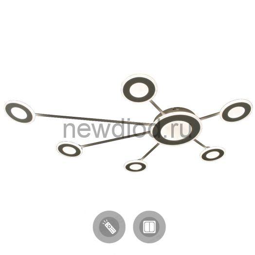 Управляемый светодиодный светильник ASSIMETRIA DOUBLE 90W R-1200/800-WHITE/WHITE-220-IP44