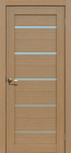 Дверь межкомнатная Токио Тиковое дерево   (Цена за комплек