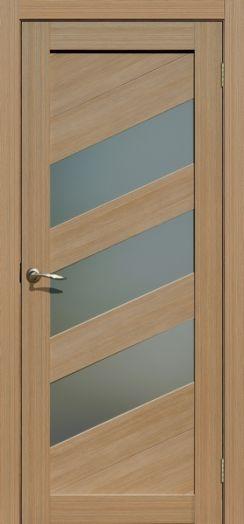 Дверь межкомнатная Осака Тиковое дерево (Цена за комплект)