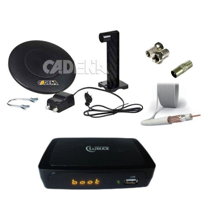Комплект для цифрового ТВ DVB-T2 Город 2