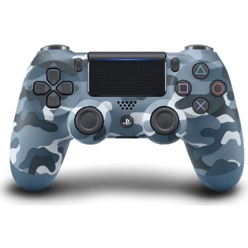 Sony DualShock 4 V2 Camouflage Blue Синий камуфляж PS4