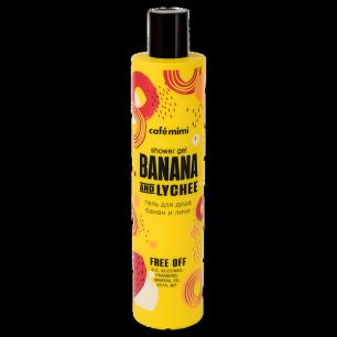 mimi Гель для душа Банан и Личи, 300 мл