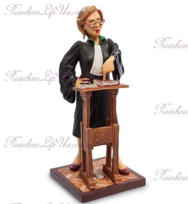 "Статуэтка леди адвокат ""The Lady Lawyer. Forchino"""