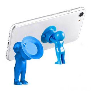 Настольный держатель мобильного телефона 3D-MANstand, Цвет: Синий