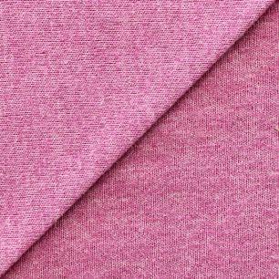 Лоскут трикотажной ткани  Малиновый мелланж