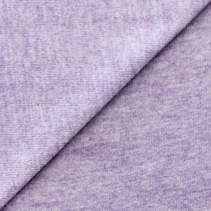 Лоскут трикотажной ткани  Сиреневый меланж