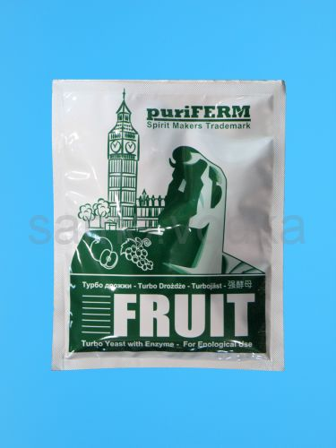 Дрожжи Puriferm Fruit Turbo, 50 гр.