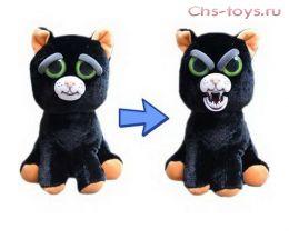 Игрушка Feisty Pets Черный кот