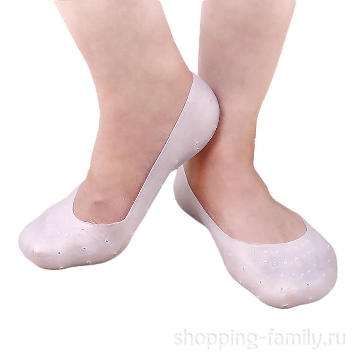 Силиконовые носочки Anti-Crack Silicone Socks, размер M