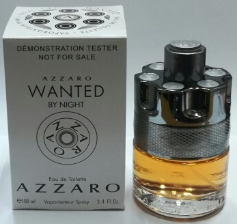 Tester Azzaro Wanted By Night 100 ml