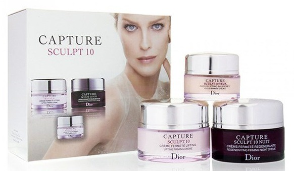 """Набор кремов Christian Dior """"Capture Sculpt"""" 3 в 1"""