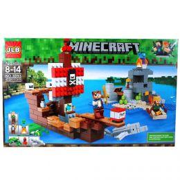 Minecraft  Приключения на пиратском корабле 432 детали