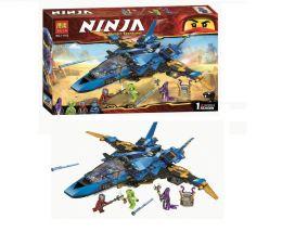 """Конструктор BELA Ninjago """"Штормовой истребитель Джея"""" 524дет."""
