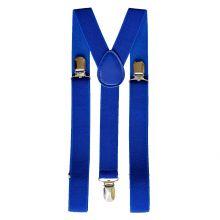 Подтяжки мужские для брюк синие