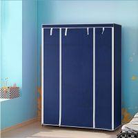 Складной каркасный тканевый шкаф Storage Wardrobe, Цвет Синий