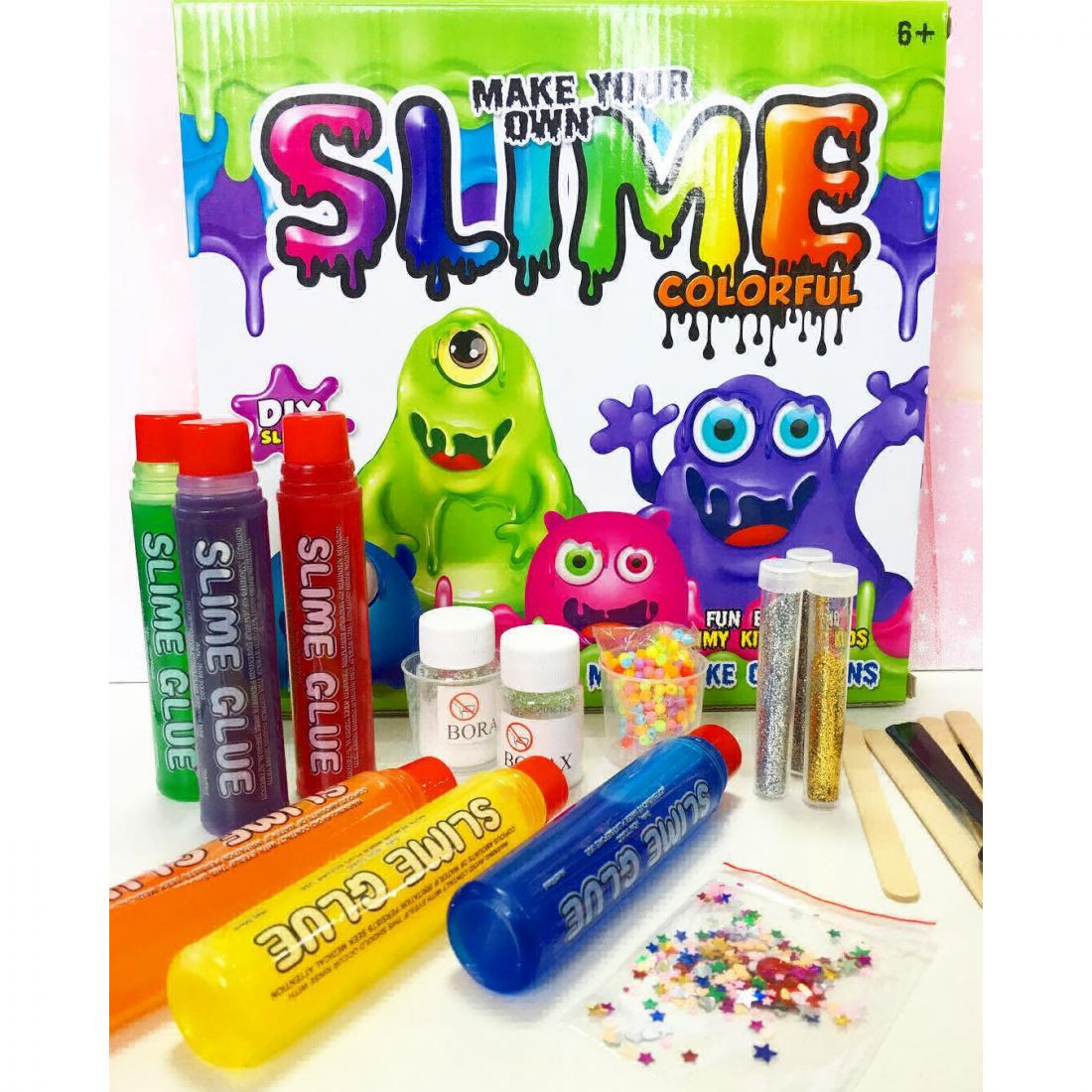 "Набор для создания слаймов ""Slime Colorful"""