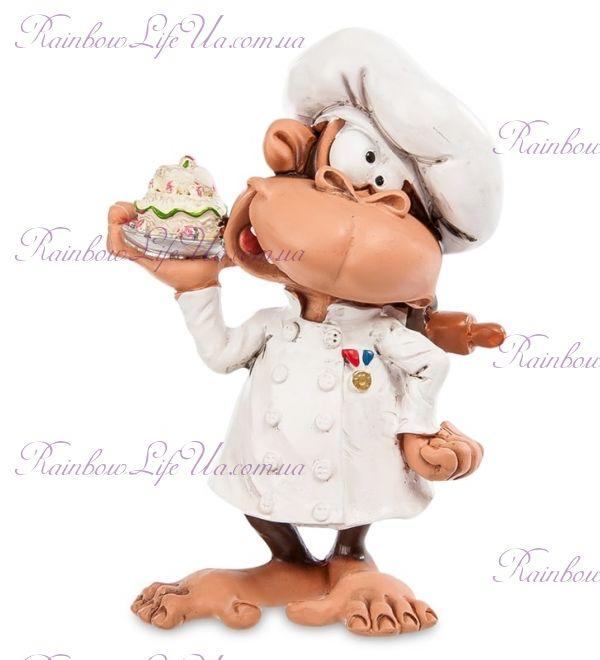 """Фигурка обезьяна повар """"W.Stratford"""""""