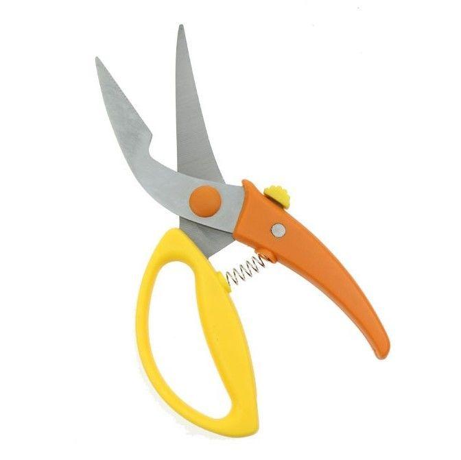Ножницы Для Птицы И Мяса, Цвет Желто-Оранжевый