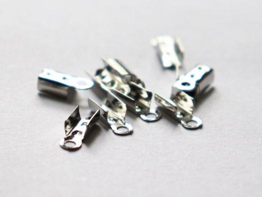 Концевики, 6*3 мм, Никель, 10 шт/упак