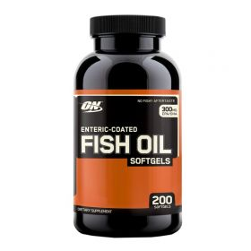 Enteric Coated Fish Oil Softgels от Optimum Nutrition 200 кап