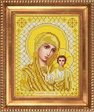 И-5050 Благовест. Казанская Божия Матерь в золоте. А5 (набор 475 рублей)