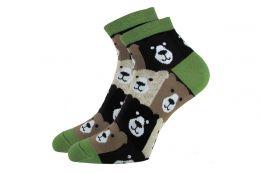 """Цветные укороченные носки 418""""К"""" мишки"""