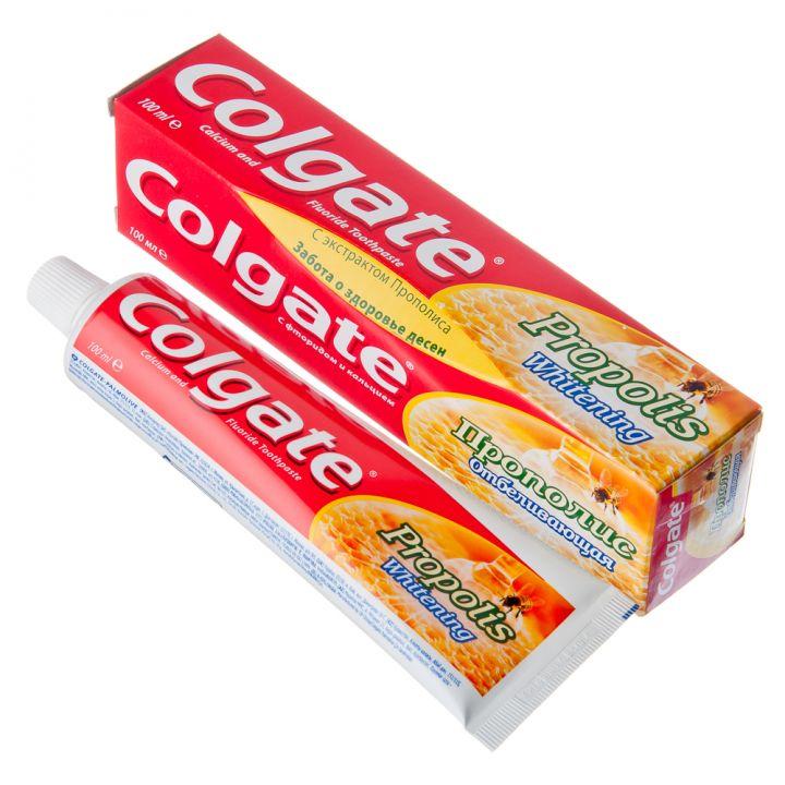 Зуб. паста Colgate 100мл Прополис отбеливающая